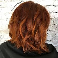 Bob Frisuren In Kupfer by Neue Haarfarbe Inspirationen Für Bob Haarschnitte Neue Frisur Stil