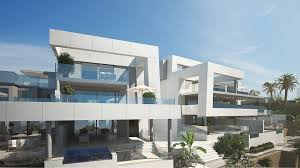 modern penthouses nueva andalucia modern apartments and penthouses for sale with sea