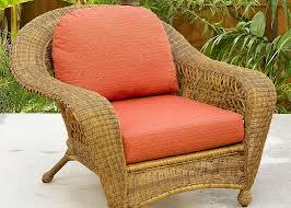 Charleston Patio Furniture by Silver Coast Charleston 4 Piece Custom Outdoor Walnut Wicker Patio