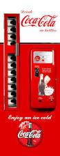 Coke Can Six Flags Coke Vending Machine Fridge Wrap 7 3 Cu Ft Selling Rm Wraps