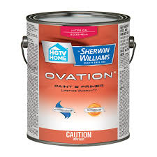 hgtv home by sherwin williams ovation interior latex paint and