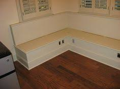 eat in kitchen bench seat all doors open storage fold down
