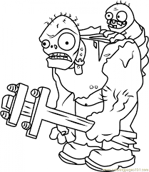 plants zombies coloring pages fun printables at896