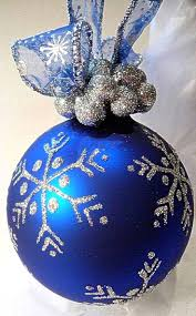 95 best christmas ball tree images on pinterest painted