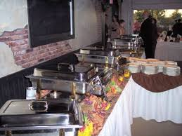 how to set a buffet table with chafing dishes buffet dinner full service menus cutting edge catering catering to