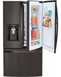 Stainless Steel Refrigerator French Door Bottom Freezer - surprise 30 off kenmore elite 73167 28 5 cu ft french door