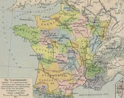 Provence Map Index Of Genealogy History Maps France