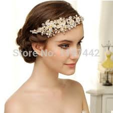 gold headbands the most beautiful handmade bridal hair accessories vintage gold