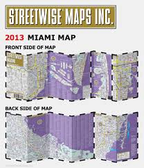Map Of Miami International Airport by Streetwise Miami Map Laminated City Center Street Map Of Miami