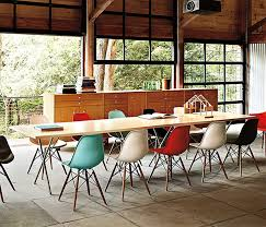 admirable eames molded plastic chair on home designing inspiration