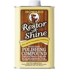 Holloway House Cleaning Products by Howard Restor A Shine Polishing Cream Wood Polish Walmart Com