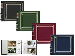 pioneer photo albums 4x6 pioneer bl 200 bonded leather photo album