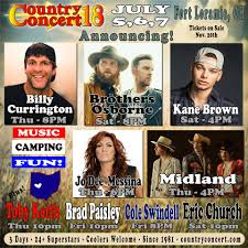 country concert home facebook