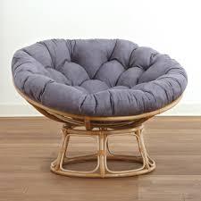 Rattan Papasan Chair Cushion Furniture Furniture Grey Cozy Papasan Cushion Cover And Rattan