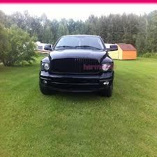 2004 black dodge ram fit for 94 01 dodge ram 1500 2500 3500 vertical front grille black