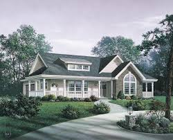 single story house plans with large front porch ranch big porches