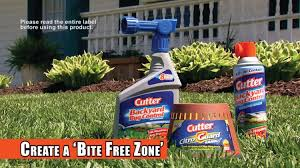 cutter insect repellent backyard bug control products youtube