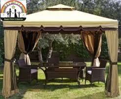 tende gazebi gazebo in alluminio per giardino con tende e zanzariere