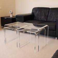 Coffee Table Nest by Plastic Online Acrylic Online Uk Shop Acrylic Retail Stands