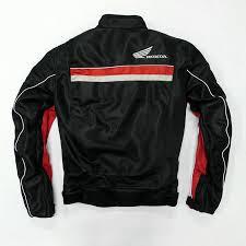 black honda motorcycle motorcycle textile oxford waterproof jacket with hard protectors