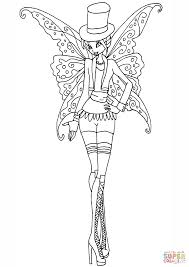 gothic bloom coloring page free printable coloring pages