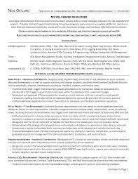 server resume example 10 sql developer resume sample job and resume template best sql developer resume sample