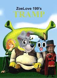 tramp shrek parody wiki fandom powered wikia