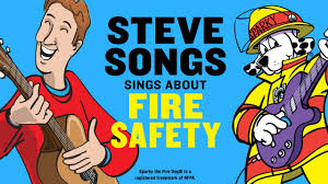 fire safety video for kids with stevesongs u0026 sparky the fire dog