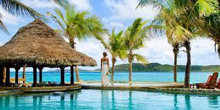caribbean wedding venues best caribbean wedding venue pool pavilion necker island
