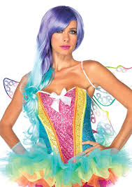 leg avenue costumes rainbow sequin corset with support boning