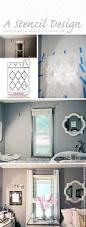 a stencil design adds subtle beauty to a room stencil stories cutting edge stencils shares a diy stenciled bedroom accent wall makeover using the marrakech trellis allover