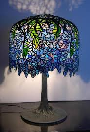 Louis Comfort Tiffany Lamp 30 Best Stained Glass Lamps Images On Pinterest Stained Glass