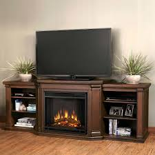 pleasant hearth merrill electric fireplace and media console