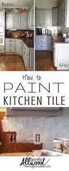 paint kitchen tiles backsplash how to paint a kitchen tile backsplash labour and caign