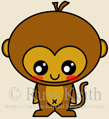 Cute Halloween Pictures To Draw How To Draw A Halloween Monkey Halloween Monkey Step By Step