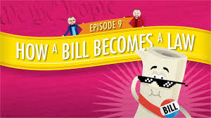 how a bill becomes a law crash course government and politics 9