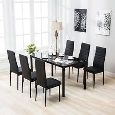 black dining room sets dining room set ebay