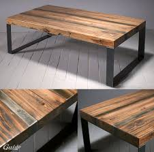 Diy Wooden Table Top by Best 10 Reclaimed Wood Coffee Table Ideas On Pinterest Pine
