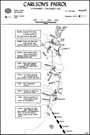 Guadalcanal Map From Makin To Bougainville Marine Raiders In The Pacific War The