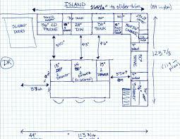 100 kitchen floor plans with island white kitchen cabinets