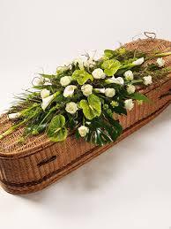 funeral casket casket spray