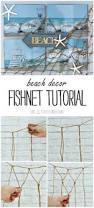 high nautical fishing net seaside wall beach party sea ss home