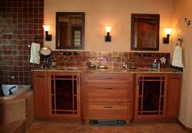 Mission Bathroom Vanity by Mission Style Bathroom Vanities Bathroom Contemporary With Bath