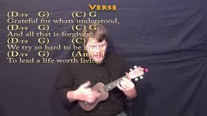 thanksgiving song chapin carpenter ukulele cover lesson