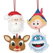 rudolph the nosed reindeer ornaments felt kit by dimensions
