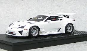 lexus lfa model ebbro 44891 lexus lfa nurburgring 24hr race 2012 test car resin
