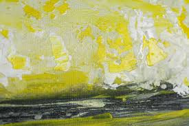 yellow and grey home decor sky and sea by qiqigallery 36