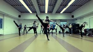 modern contemporary dance class echotek youtube