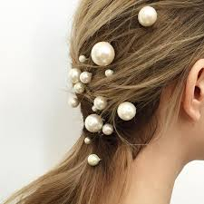pearl hair accessories these are not your grandmother s pearl hair accessories brides