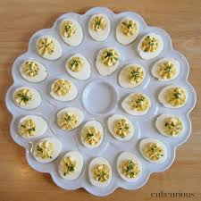 deviled egg dish truffled deviled eggs recipe culicurious